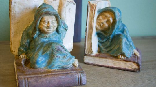 Malibu Potteries Bookends