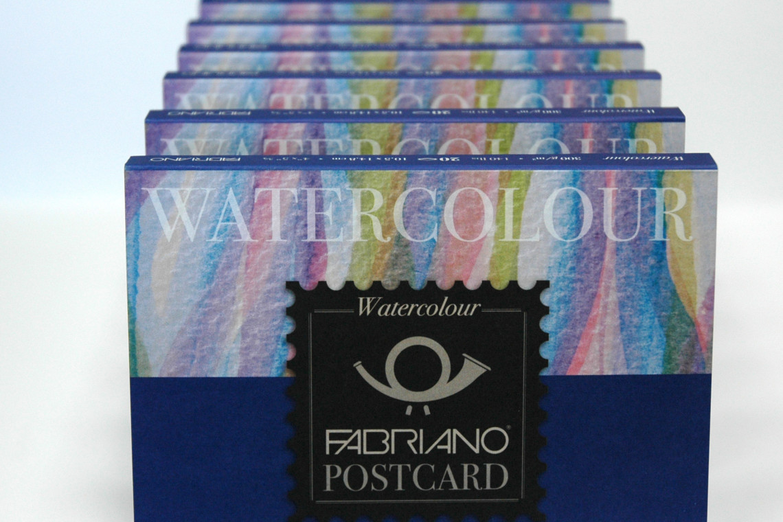 Fabriano Watercolor Postcards